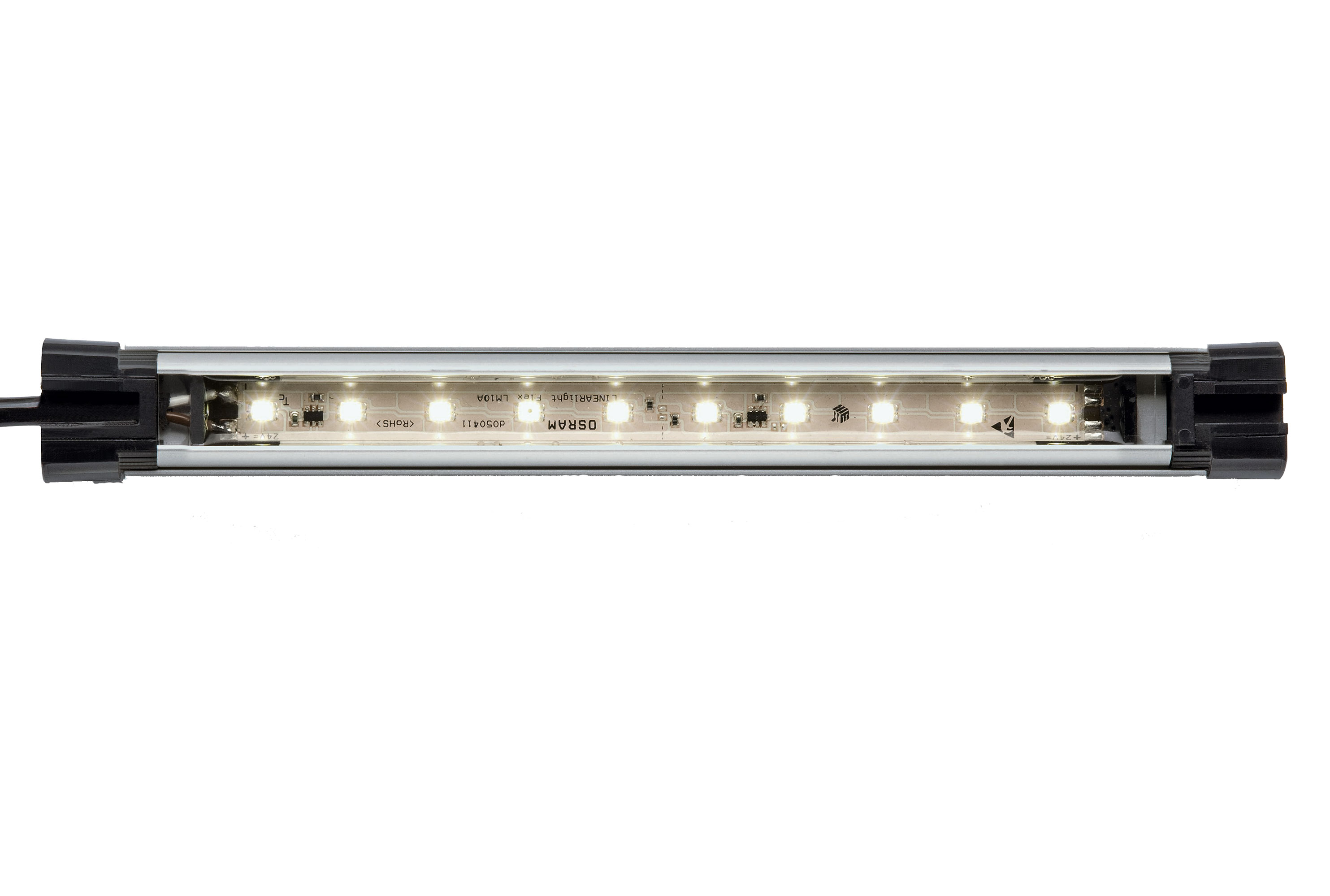 Светильник накладной SLIM LED LIQ 48 (LED 28Вт/1176мм/DC 22-29В/сатин. акрил;регулир. наклон;IP67)
